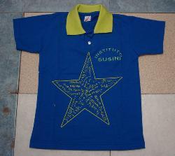 FABRICA DE UNIFORMES ESCOLARES Chombas escolares estampadas Fabrica de uniformes escolares